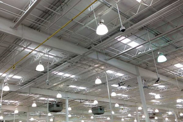 Commercial and Indiustrial Light FittingInstallation