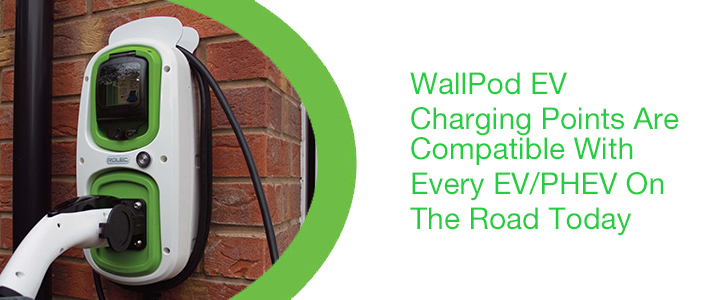 Rolec WallPod EV Charging Points