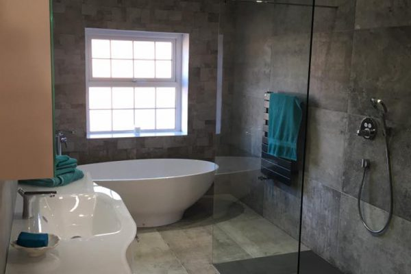 Bathroom LED Lighting and Underfloorheating