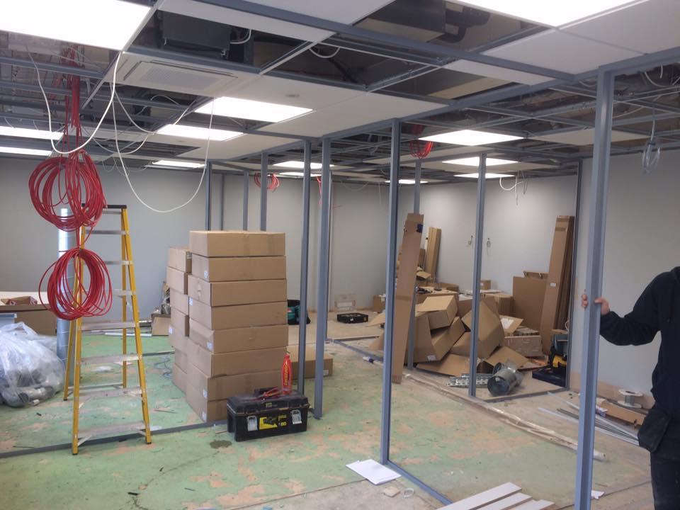 Commercial Rewire at Santander | Ryan Electrical Contractors