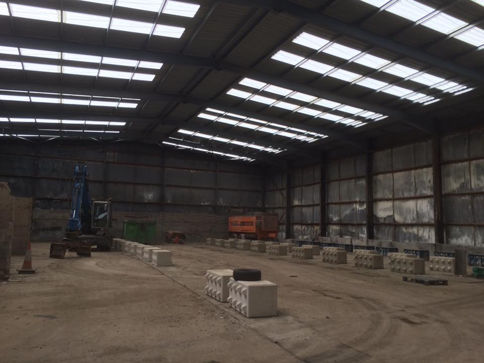 industrial high bay lighting installation barnsley ryan electrical