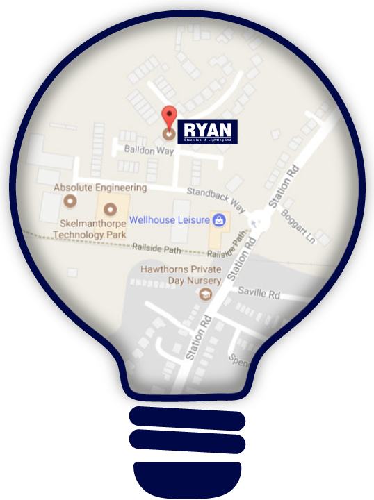 Ryan Electrical & Lighting Location